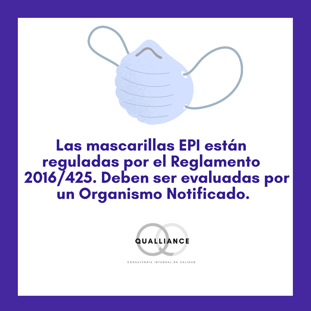 Mascarillas EPI