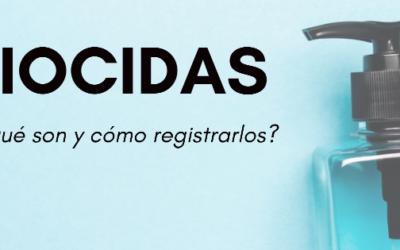 ¿Qué es un biocida y cómo registrarlo?